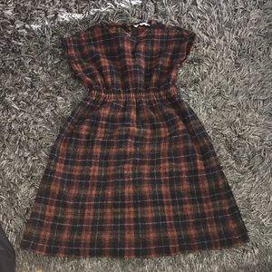 Christine alcalay wool dress xs